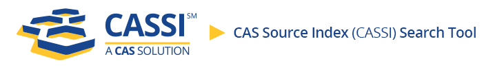 CAS Source Index
